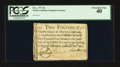 Colonial Notes:North Carolina, North Carolina December, 1771 £2 PCGS Extremely Fine 40.. ...