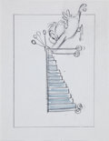 animation art:Production Drawing, Western Airlines Production Drawing Animation Art(undated)....