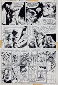 Original Comic Art:Panel Pages, Michael W. Kaluta The Shadow #2 page 7 Original Art (DC,1973)....