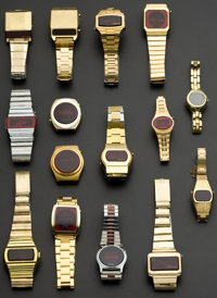 A Lot Of Fifteen Wristwatches For Restoration