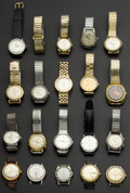 Timepieces:Wristwatch, A Lot Of Twenty Vintage Wristwatches. ... (Total: 20 Items)