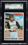 Baseball Cards:Singles (1970-Now), 1970 Topps Roberto Clemente #350 SGC 88 NM/MT 8....