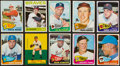 Baseball Cards:Lots, 1960's Topps Baseball HoFers Collection (18). ...