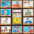 Football Cards:Sets, 1966/67 Topps Football Complete Set (132). ...