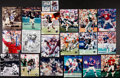 Football Collectibles:Photos, Football Legends Signed Photographs Lot of 20. ...