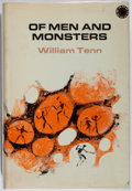 Books:Science Fiction & Fantasy, [Jerry Weist]. William Tenn. INSCRIBED/REVIEW COPY. Of Men and Monsters. Walker, 1968. First edition, first printing...