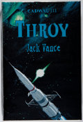Books:Science Fiction & Fantasy, [Jerry Weist]. Jack Vance. SIGNED/LIMITED. Throy. Underwood-Miller, 1992. First edition, first printing. Limited t...