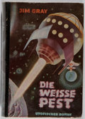 Books:Science Fiction & Fantasy, [Jerry Weist]. Jim Gray. Die Weibe Pest. Bewin, [n. d.]. German edition. Toning and offsetting. Bumped. Spine le...