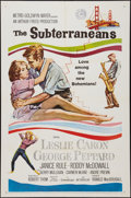 "Movie Posters:Drama, The Subterraneans (MGM, 1960). One Sheet (27"" X 41""). Drama.. ..."