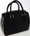 Luxury Accessories:Bags, Heritage Vintage: Louis Vuitton Black Epi Leather Pont-Neuf Bag....