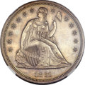Proof Seated Dollars, 1861 $1 PR61 NGC....