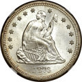 Seated Quarters, 1876-S 25C MS66 NGC....