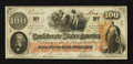 Confederate Notes:1862 Issues, T41 $100 1862 PF-15 Cr. 416.. ...