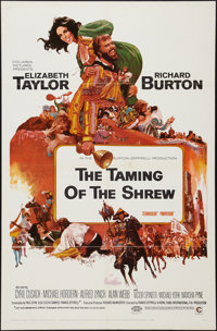 "The Taming of the Shrew & Other Lot (Columbia, 1967). One Sheets (2) (27"" X 41""). Comedy. ... (Total: 2 It..."