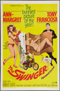 "Movie Posters:Comedy, The Swinger & Other Lot (Paramount, 1966). One Sheets (2) (27""X 41""). Comedy.. ... (Total: 2 Items)"
