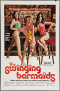 "Movie Posters:Sexploitation, The Swinging Barmaids (Premiere Releasing, 1975). One Sheet (27"" X 41""). Sexploitation.. ..."