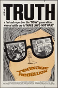 """Movie Posters:Documentary, Teenage Rebellion & Other Lot (Trans American, 1967). One Sheets (2) (27"""" X 41""""). Documentary.. ... (Total: 2 Items)"""
