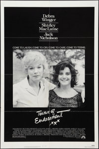 """Terms of Endearment (Paramount, 1983). One Sheet (27"""" X 41""""). Drama"""