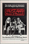 """Movie Posters:Documentary, Mustang: The House that Joe Built (Cannon, 1978). One Sheet (27"""" X 41"""") Also Known As Mustang: House of Pleasure. Docume..."""
