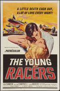 "Movie Posters:Action, The Young Racers (American International, 1963). One Sheet (27"" X 41""). Action.. ..."