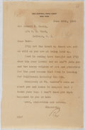 Autographs:Authors, Rex Beach (1877-1949, American Writer). Autograph Letter Signed. Very good....