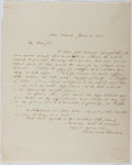 Autographs:Authors, Charles Dexter Cleveland (1802-1869, American Writer). Autograph Letter Signed. Very good....