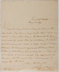 Autographs:Authors, Theodore Hook (1788-1841, British Writer and Humorist). AutographLetter Signed. Very good....