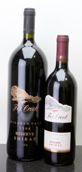 Australia, Fox Creek Reserve Shiraz. 1998 Bottle (1). 1998 Magnum (1). ...(Total: 1 Btl. & 1 Mag. )