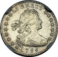 Early Half Dimes, 1796 H10C MS60 NGC. V-1, LM-1, R.3....