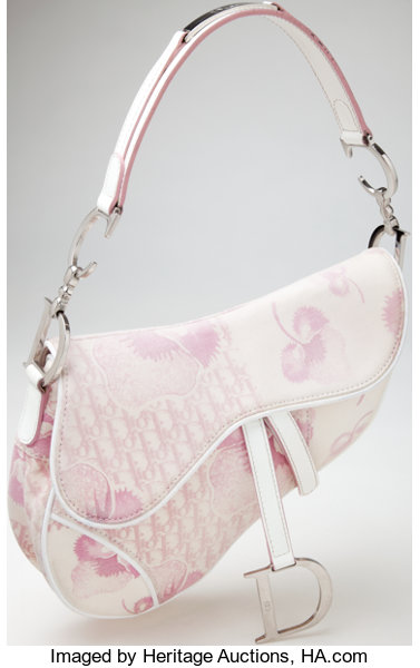 48b78cb726c ... Luxury Accessories:Bags, Heritage Vintage: Christian Dior Girly  Collection Pink and WhiteCanvas and ...