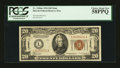 Small Size:World War II Emergency Notes, Fr. 2304 $20 1934 Mule Hawaii Federal Reserve Note. PCGS Choice About New 58PPQ.. ...