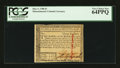 Colonial Notes:Massachusetts, Massachusetts May 5, 1780 $3 PCGS Very Choice New 64PPQ.. ...