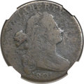 Large Cents, 1801 1C -- Corrosion -- NGC Details. AG. NC-2, B-10, R.7....