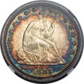 Seated Quarters, 1883 25C MS66+ NGC. CAC....