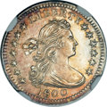 Early Half Dimes, 1800 H10C -- Obverse Repaired -- NGC Details. Unc. V-1, LM-1,R.3....