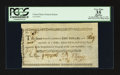 Colonial Notes:Continental Congress Issues, Continental Currency Indent September 27 1785 $1 and 39/90th's PCGSApparent Very Fine 35.. ...