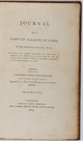 Books:Travels & Voyages, John Dean Paul. Journal of a Party of Pleasure to Paris. Cadell and Davies, 1803. Second edition. Contemporary calf....