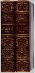Books:Fine Bindings & Library Sets, [Fine Binding]. George Cruikshank [illustrator]. William Harrison Ainsworth. The Tower of London. Vol. I & II. N... (Total: 2 Items)