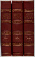 Books:Fine Bindings & Library Sets, [Fine Binding]. Edward Payson. Complete Works. Vol. I-III. Hyde, Lord & Duren, 1846. First edition, first printi... (Total: 3 Items)