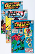 Silver Age (1956-1969):Superhero, Justice League of America Group (DC, 1963-65) Condition: Average VG.... (Total: 8 Comic Books)