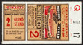 Baseball Collectibles:Tickets, 1929 World Series Game 2 Ticket Stub. ...