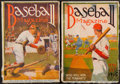 "Baseball Collectibles:Publications, 1915 ""Baseball Magazine"" Publications Lot of 2...."