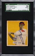 Baseball Cards:Singles (1940-1949), 1949 Bowman Larry Doby #233 SGC 50 VG/EX 4....