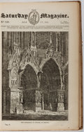 Books:Religion & Theology, The Saturday Magazine. Bound Volume, from July 5th, 1834 to June 27th, 1835. First edition, first printing. Full clo...