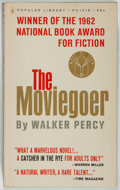 Books:Literature 1900-up, Walker Percy. The Moviegoer. Popular Library, 1962. Mass market edition, first printing. Slight spine lean and a...