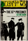 Books:Mystery & Detective Fiction, Ed McBain. The 87th Precinct. Simon and Schuster, 1959.First combined edition, first printing. Toning and mild ...