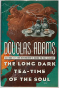 Books:Science Fiction & Fantasy, Douglas Adams. SIGNED. The Long Dark Tea-Time of the Soul. Simon and Schuster, 1988. First American edition, first p...