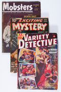 Pulps:Detective, Assorted Detective Pulps Group (Various, 1939-53) Condition:Average VG.... (Total: 6 Comic Books)