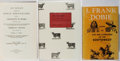 Books:Books about Books, [Books About Books]. Group of Three Books on Western Americana Bibliography. Various, 1951-1988. Very good or better conditi... (Total: 3 Items)