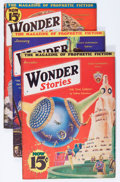 Pulps:Science Fiction, Wonder Stories Group (Standard, 1932-52) Condition: Average VG-....(Total: 12 Items)